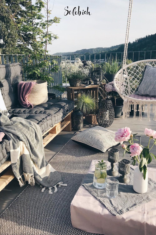 Schöne Ideen für deinen Balkon, dein Sommerwohnzimmer   Sommer ...