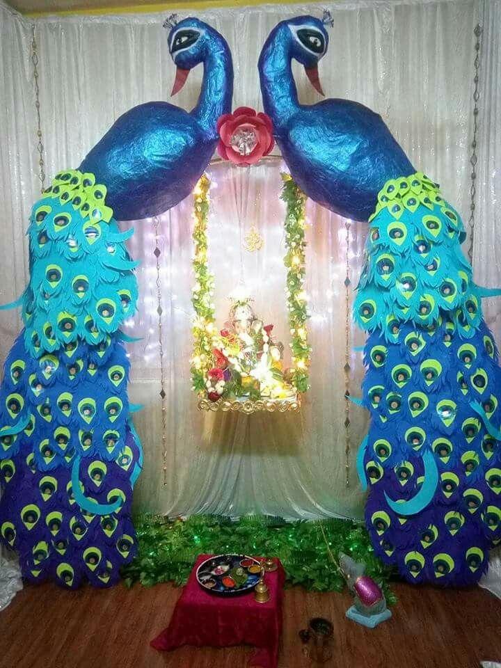 Ganesh decoration Ganesh decoration Pooja Decore