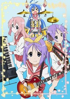 Lucky Star Crossover With K On Comment If You Know What Lucky Star