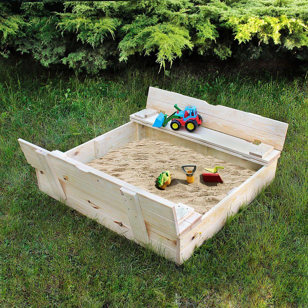 Costruire La Tua Sabbiera Da Giardino è Una Delle Tante