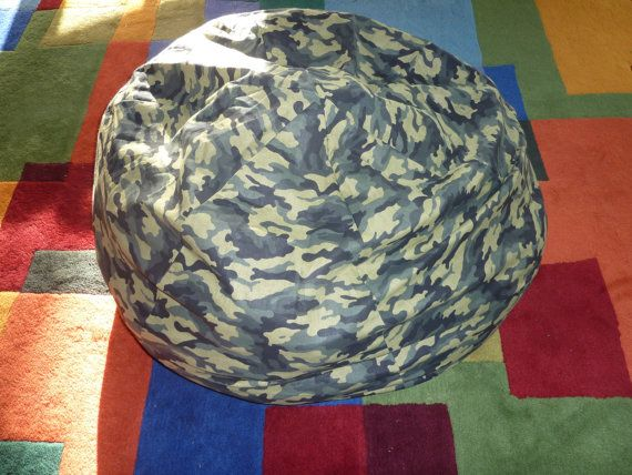 Green Camouflage Bean Bag Chair Cover Army Military Green Light Green Dark Green Etsy Kids Gifts Under 75 Bean Bag Chair Covers Bean Bag Chair Camouflage Room