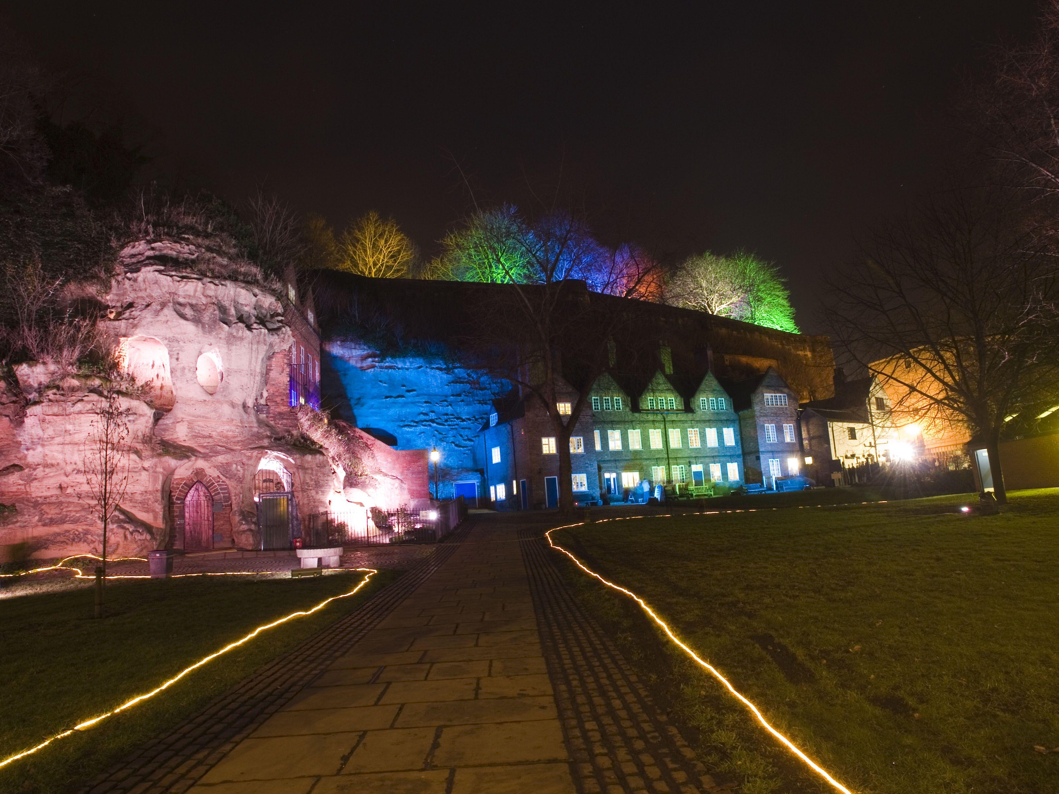 Nottingham Light Night (Fri 28th Feb 2014) Nottingham