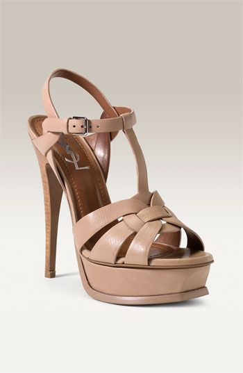 29cf59d21b40f Yves Saint Laurent  Tribute  Sandal