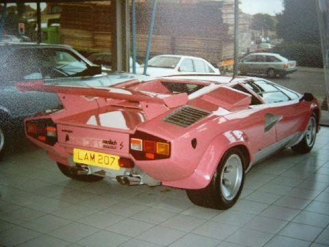 Pink Lamborghini Diablo Mundo Rosa Carros Rosas Autos Y Rosas