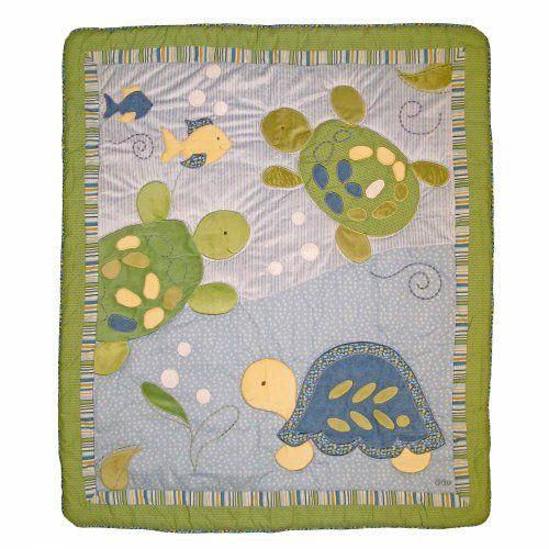 Amazon.com : Turtle Reef 9 Piece Baby Crib Bedding Set w ...
