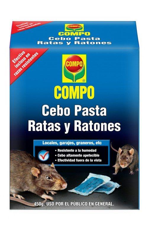 Como Acabar Con Las Ratas En El Jardin Cebo Pasta Ratas Y Ratones 450g Compo Con Imagenes Ratas Y