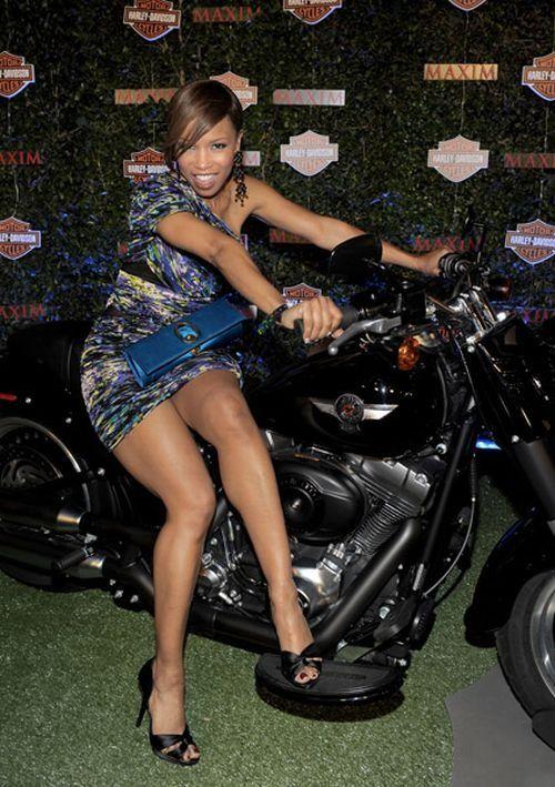 Motorcycle Mini Dress