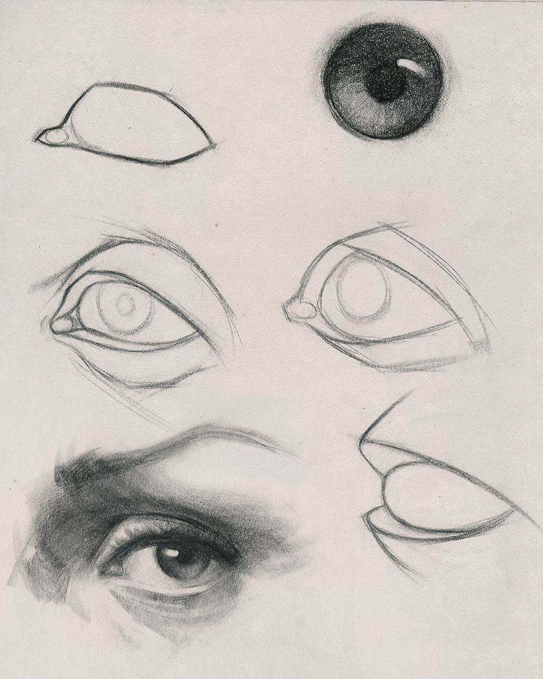 How To Draw Eyes Portrait Drawing Eye Drawing Sketches