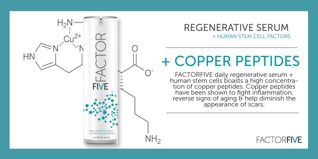 Copperpeptides Antiaging Skincare Stem Cells Skin Care Copper Peptides