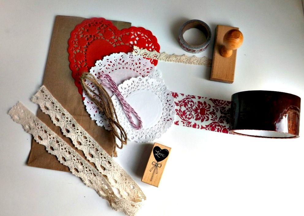 Packaging San Valentín - The Craft Cake Mama » Decorar con washi tape