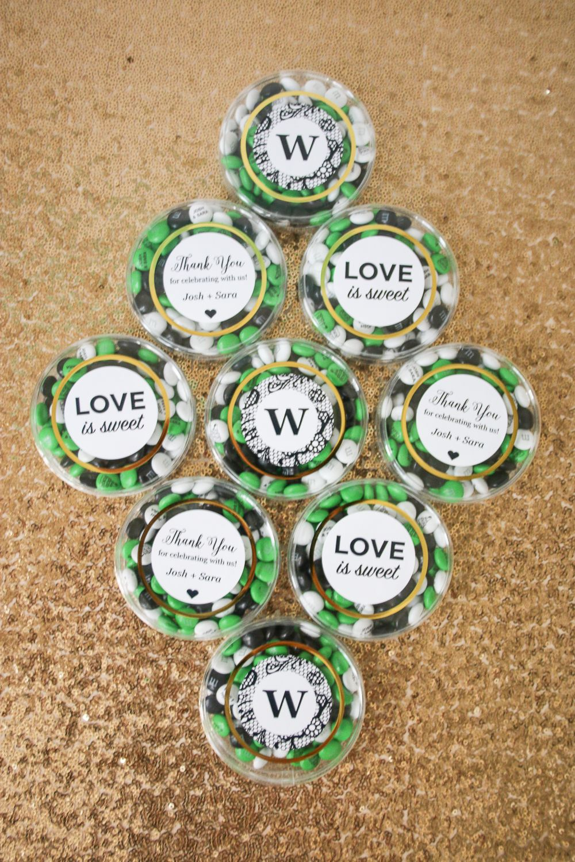 Simple wedding favors featuring my mumus plus free printables