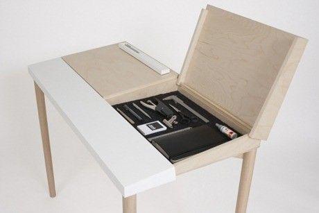 Mesa trabajo escritorio diseño Escritorios Pinterest - diseo de escritorios