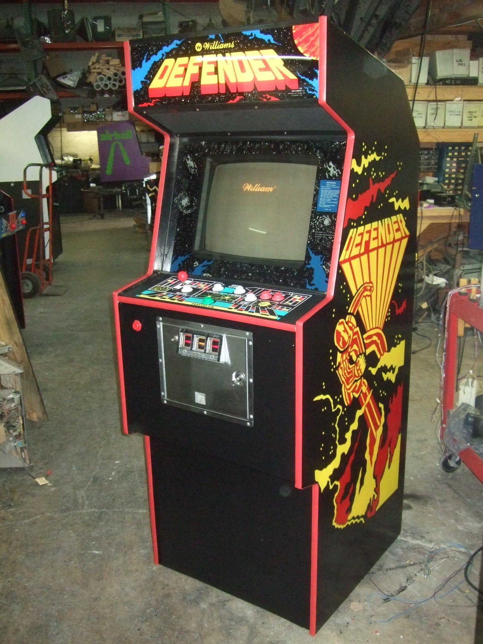 borne arcade defender