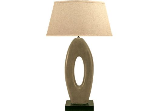 Shop For A Kurt Cream Lamp At Rooms To Go Find Lamps That Will