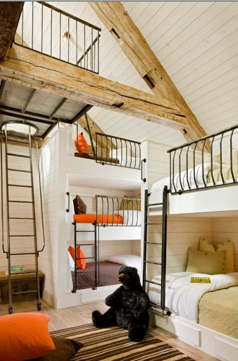Awesome Bunk Beds Bunk Beds Built In Built In Bunks House