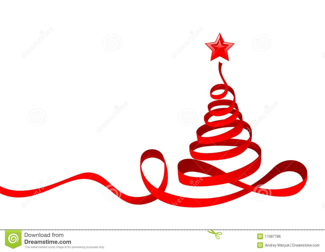 Ribbon Christmas Tree Christmas Ribbon Xmas Tree Christmas Tree