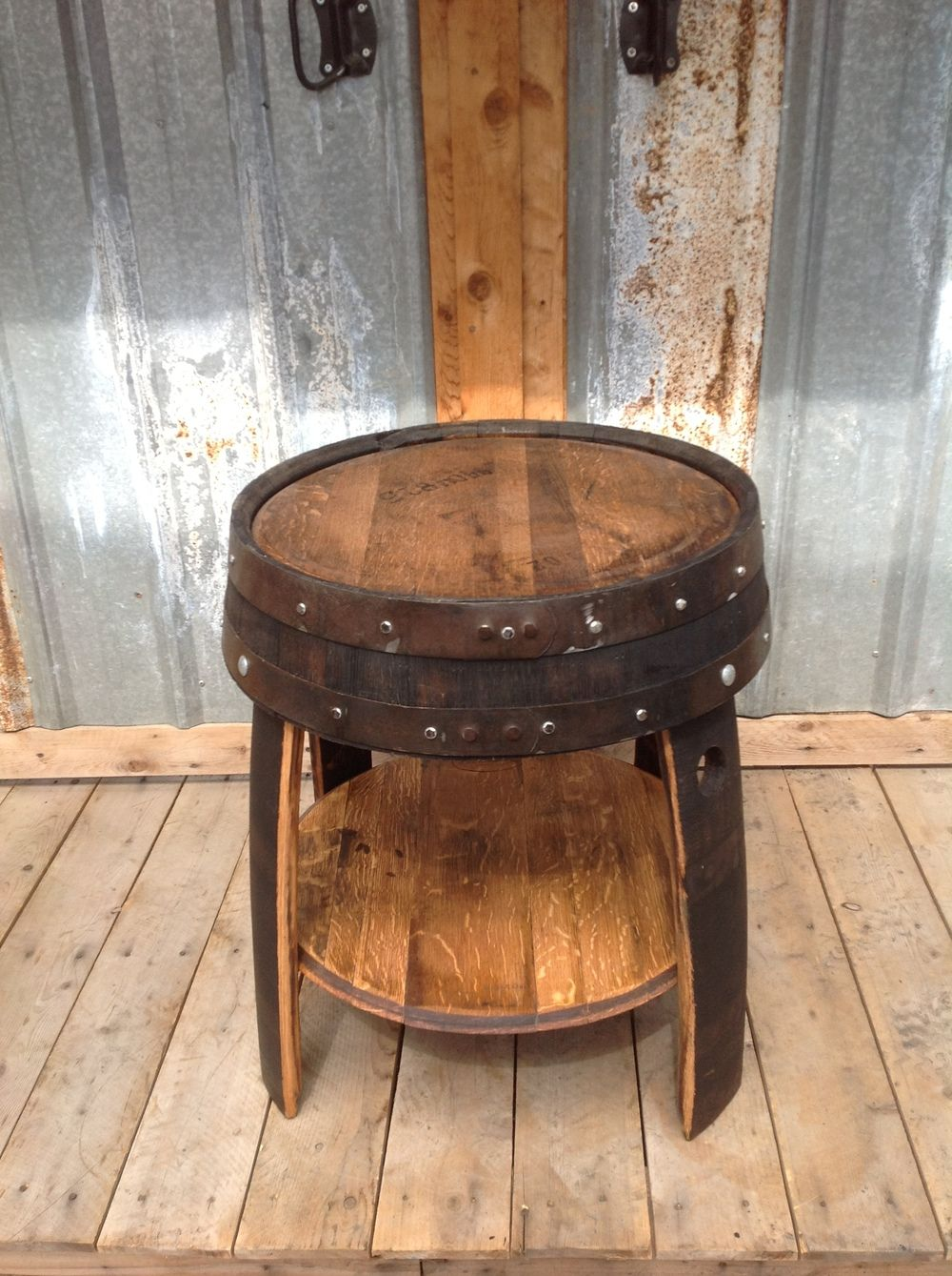 Superb Queen Crown End Table