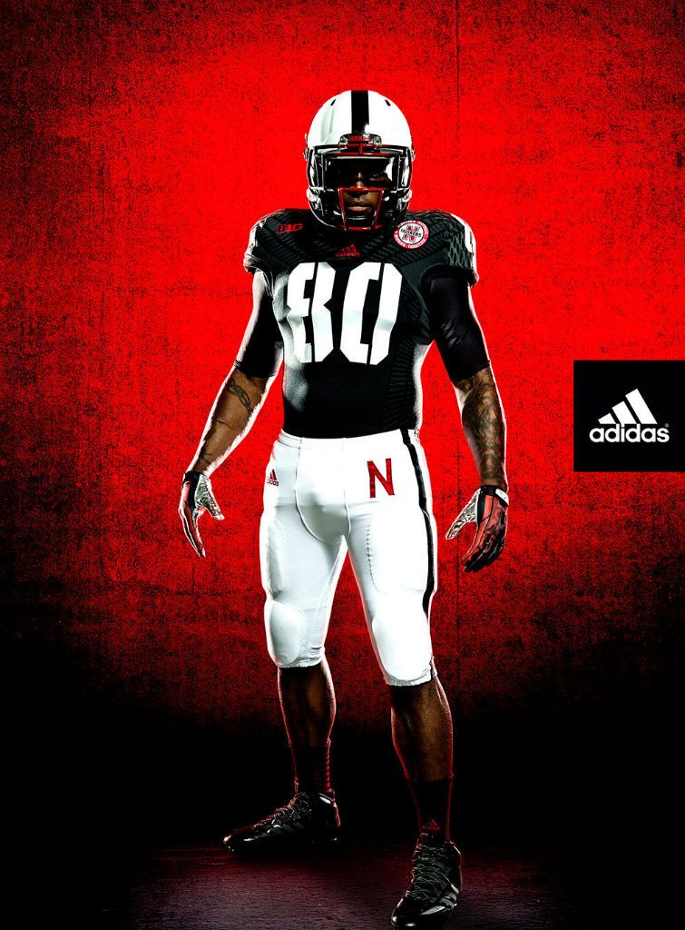 Nebraska New adidas TECHFIT Unrivaled Game Alternate Uniforms (1 ... 9bab8ca00