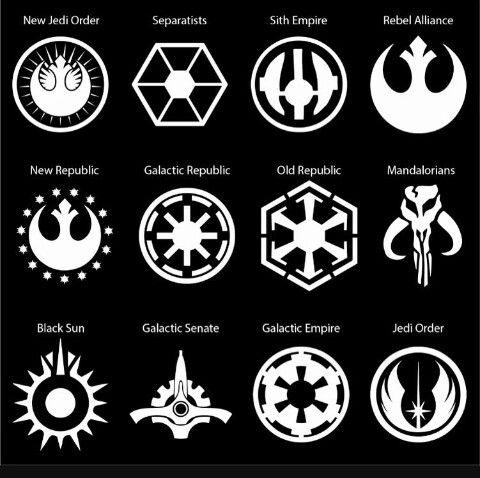 Brasões de Star Wars.