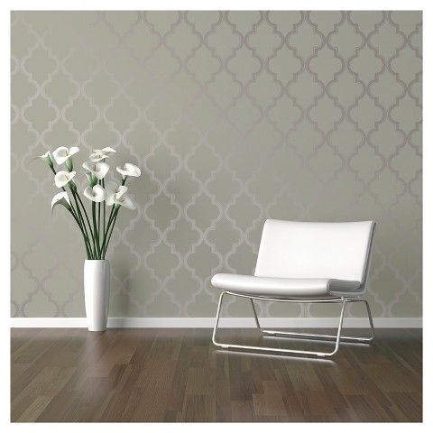 Grey Is Trendy In Modern Home Decor Modern Interior Design With Removable Wall Mural Honeycomb Grey Honeycomb Wallpaper Geometric Pattern Removable Wallpaper