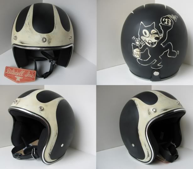 distressed lids old school helmets custom paint helmet 39 s pinterest casque moto et clem. Black Bedroom Furniture Sets. Home Design Ideas