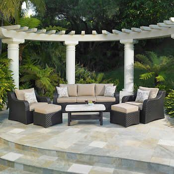 valencia 6 piece seating set by mission hills patio furniture rh pinterest com mission hills patio furniture cushions mission hills patio furniture