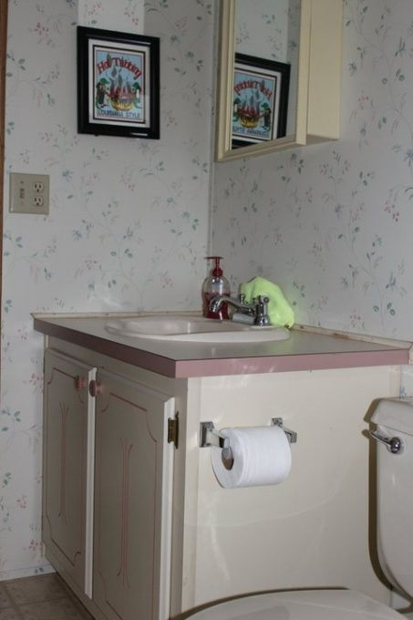 Manufactured Home Bathroom Remodel, This is a total remodel on a 1988 manufactured home bathroom.