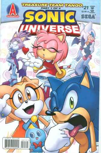 Today S Comic Sonic Universe 21 Archie Comics Sonic The