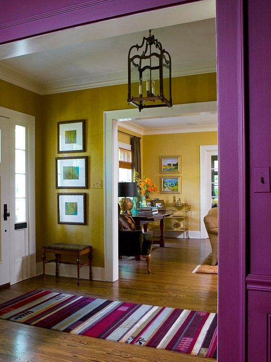 Decorating With Color In 2019 Home Deco Mustard Yellow
