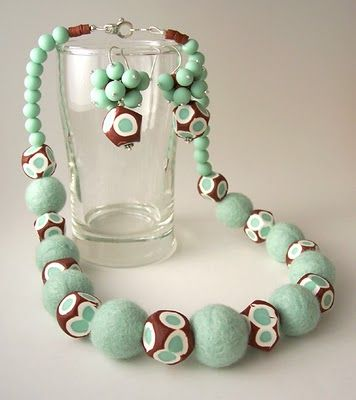 how to make clay beads from scratch