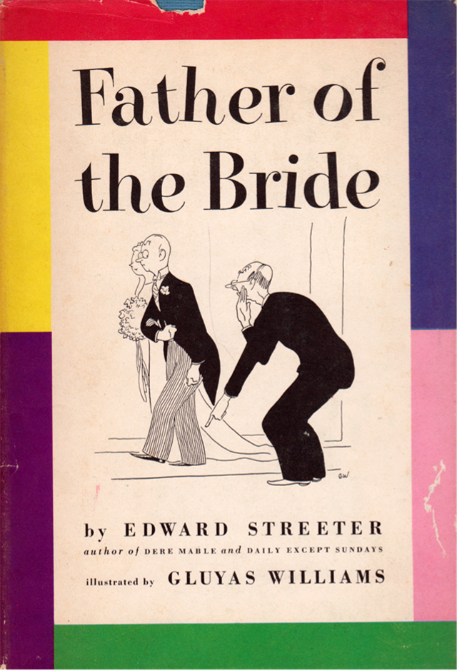 My Vintage Book Collection In Blog Form The Father Of Bride Ilrated By Gluyas Williams