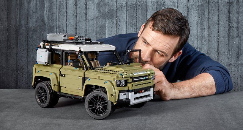Lego Unveils 2020 Land Rover Defender With Most Sophisticated