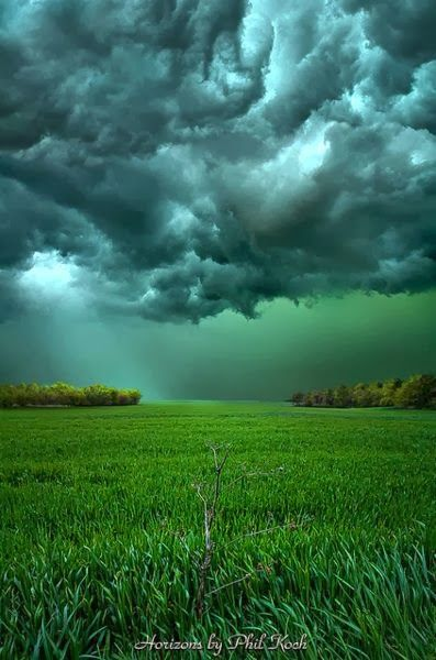Clouds are made up of many millions of miniscule water droplets which are ...