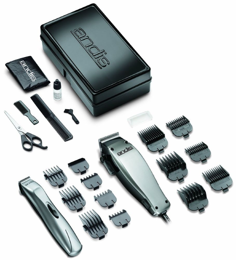 Andis professional hair and beard clipper trimmer combo clippers kit andis professional hair and beard clipper trimmer combo clippers kit salon shave winobraniefo Image collections