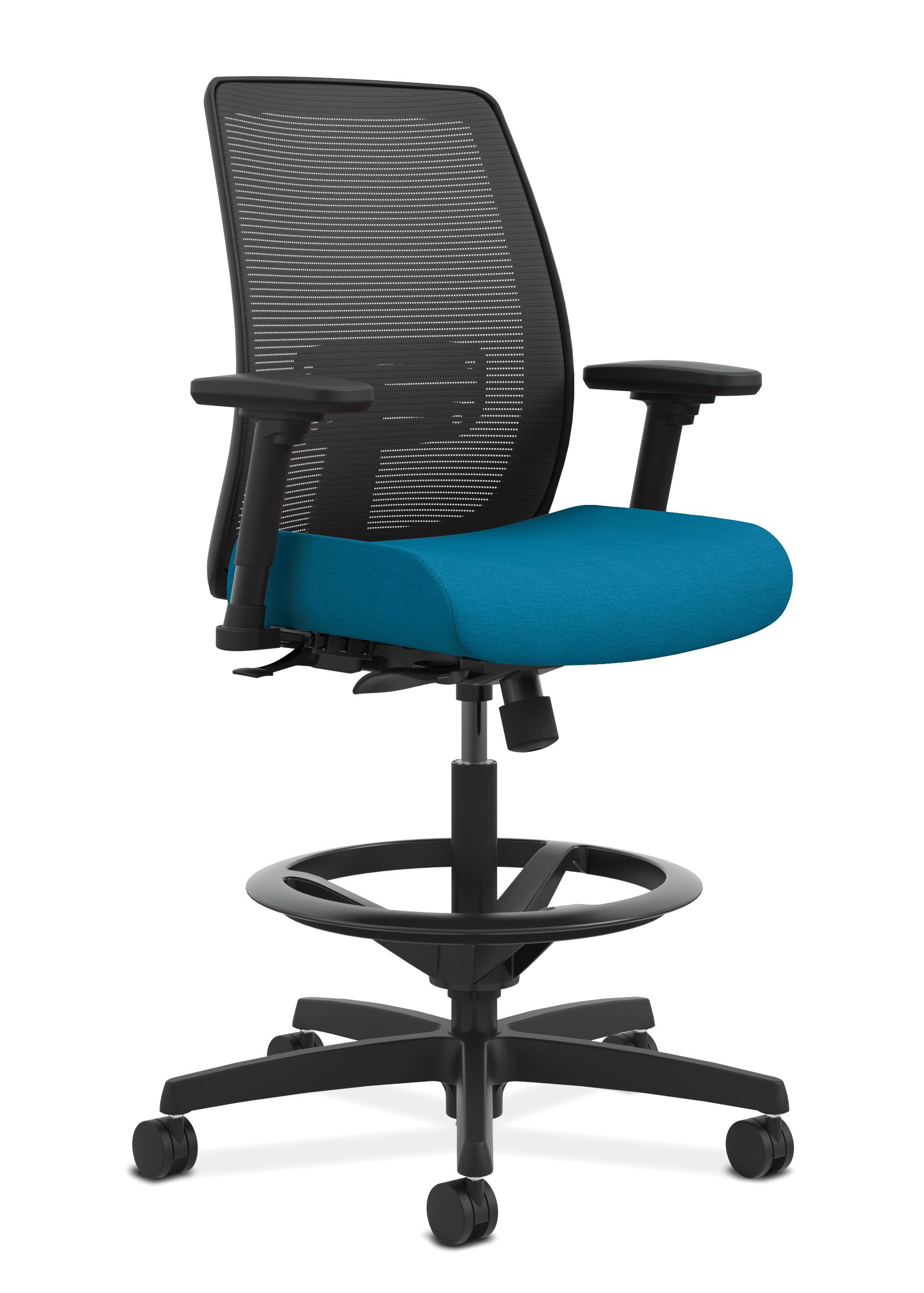 endorse mesh back task stool advanced ergonomics and customizable