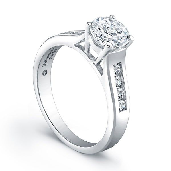 Jeff Cooper R3154 Engagement Ring In 2020 Classic Engagement