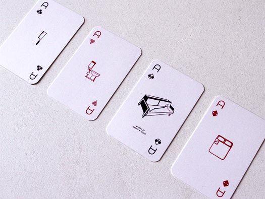 Playhouse Cards by Nikolas Arnis & Nike Dimopoulou