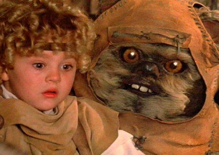 This Scary Thing Is Also Known As An Ewoki Cant Believe I Wasnt