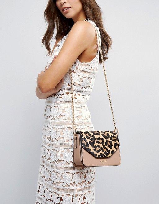 8715a55768bc Dune Interchangeable Leopard Print   Blush Crossbody Bag