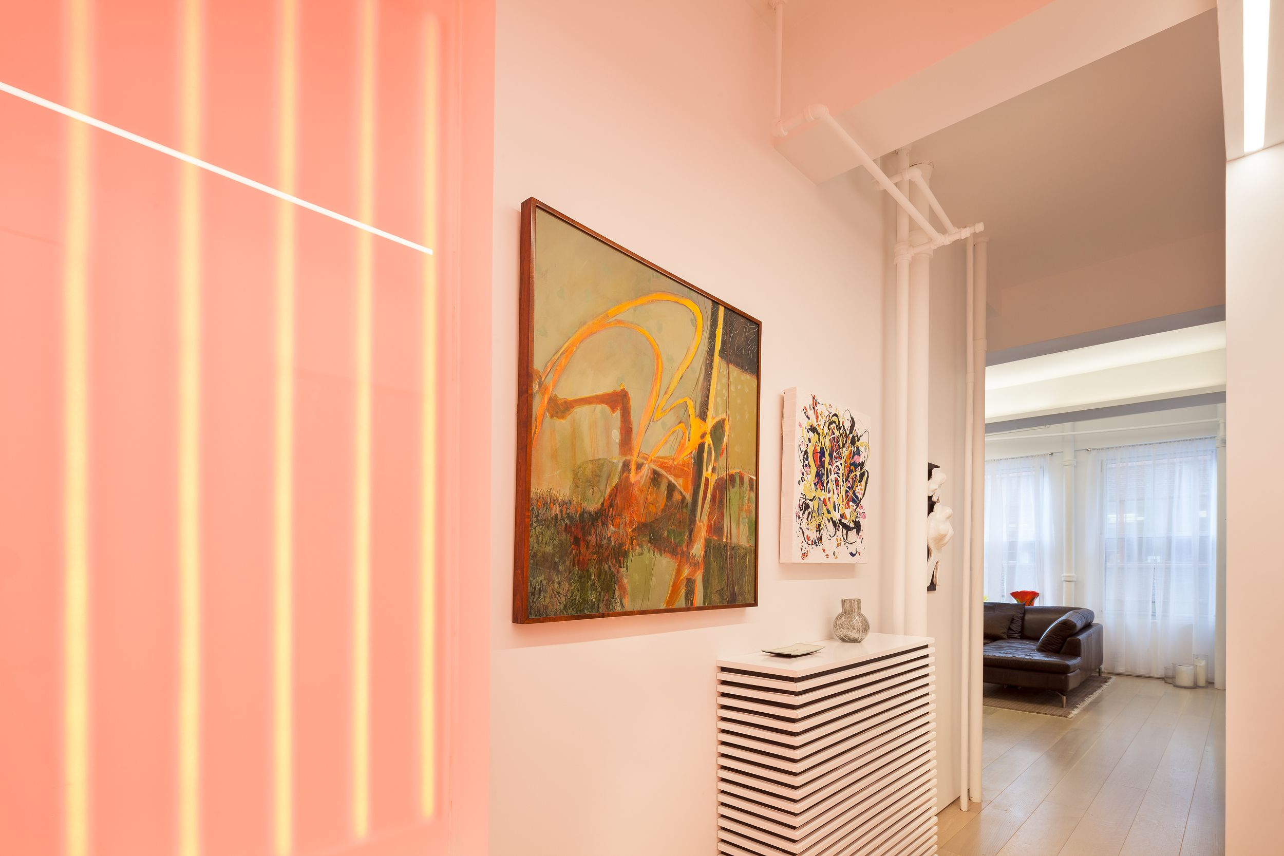 art and light modern home in new york new york by andrew mikhael