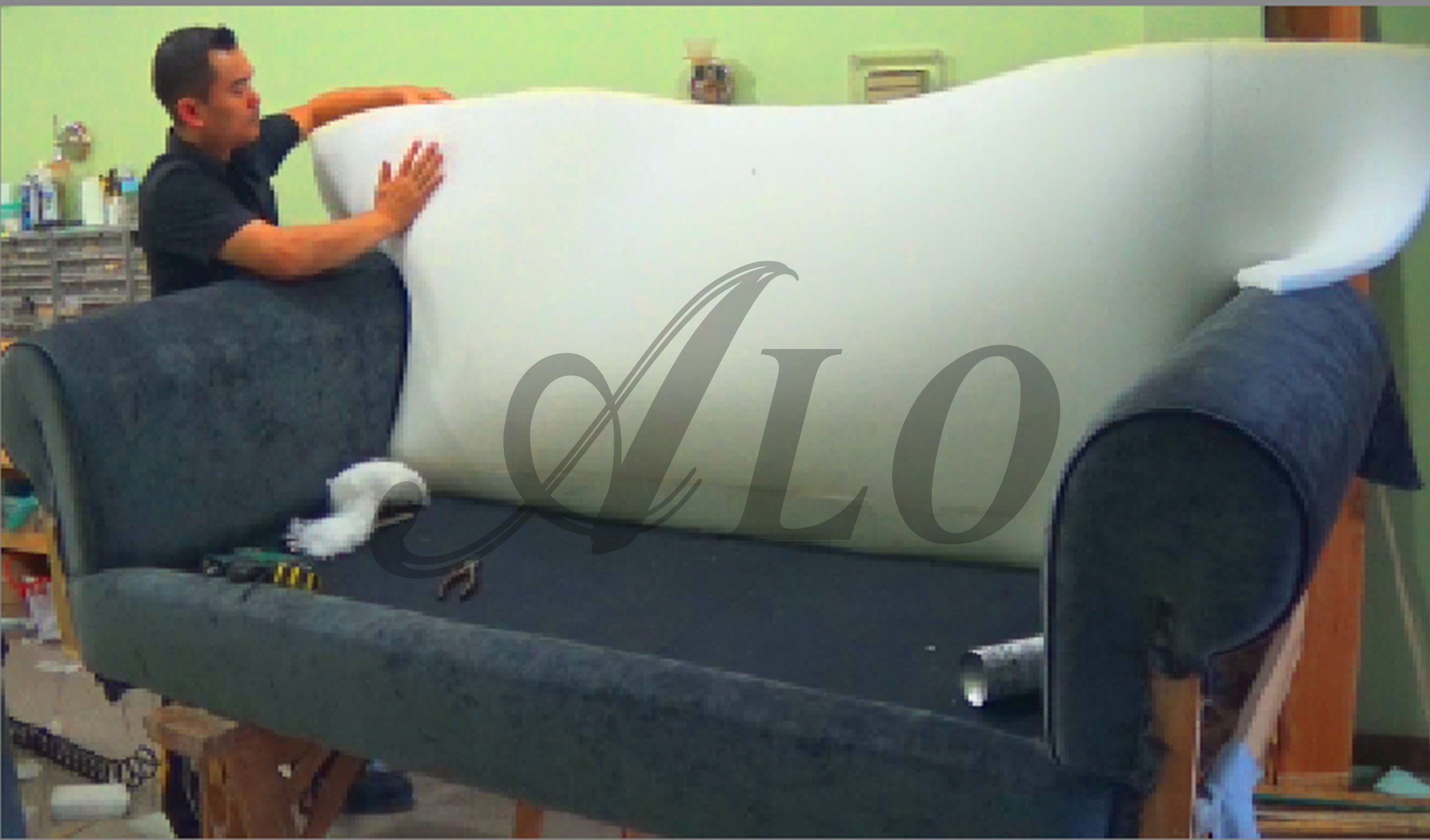 Upholstery Couch Diy Diy How To Reupholster A Sofa Aloworld Upholstery