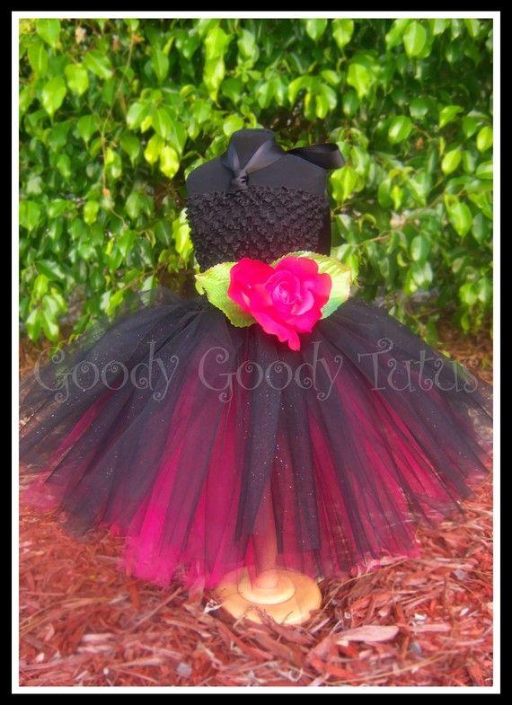 Babys Little Black Dress Fancy Black Crocheted Tutu Dress With Mini