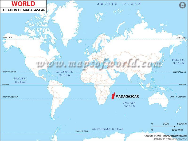 Madagascar Location Map Madagascar Pinterest Madagascar