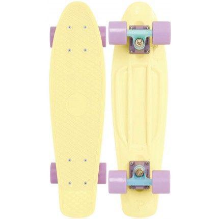 "CLASSIC BLACK SWIRL 22/"" Penny Style SkateBoard BRAND NEW!"