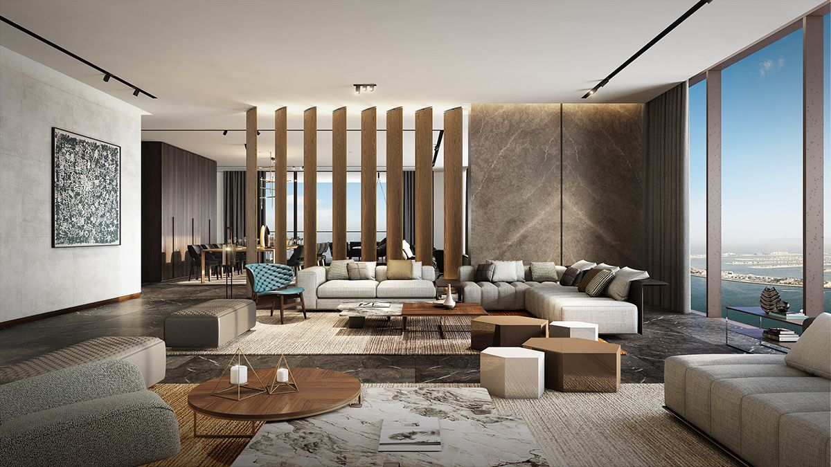 Luxury Hotel In Dubai On Behance With Images Interior Design