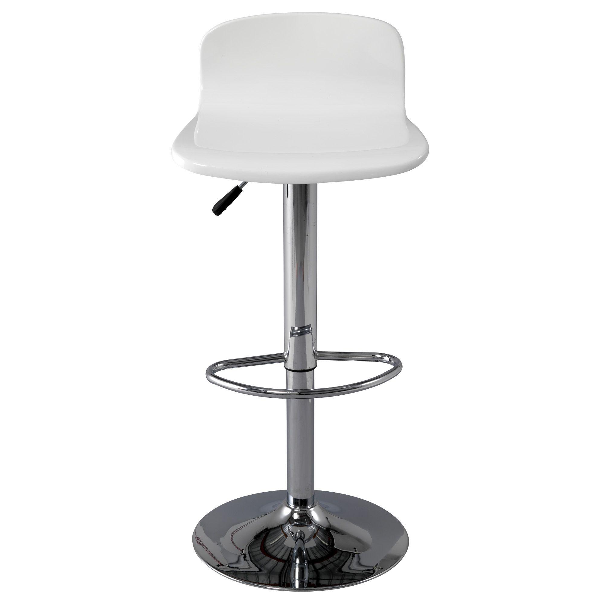 tabouret haut de bar blanc basil les tabourets hauts. Black Bedroom Furniture Sets. Home Design Ideas