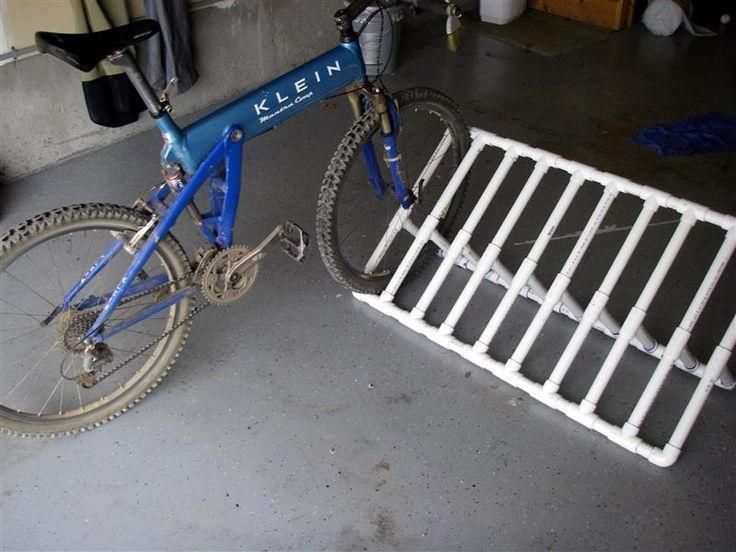 Diy Bike Rack For Kid Bikes In The Garage Cost Of Parts
