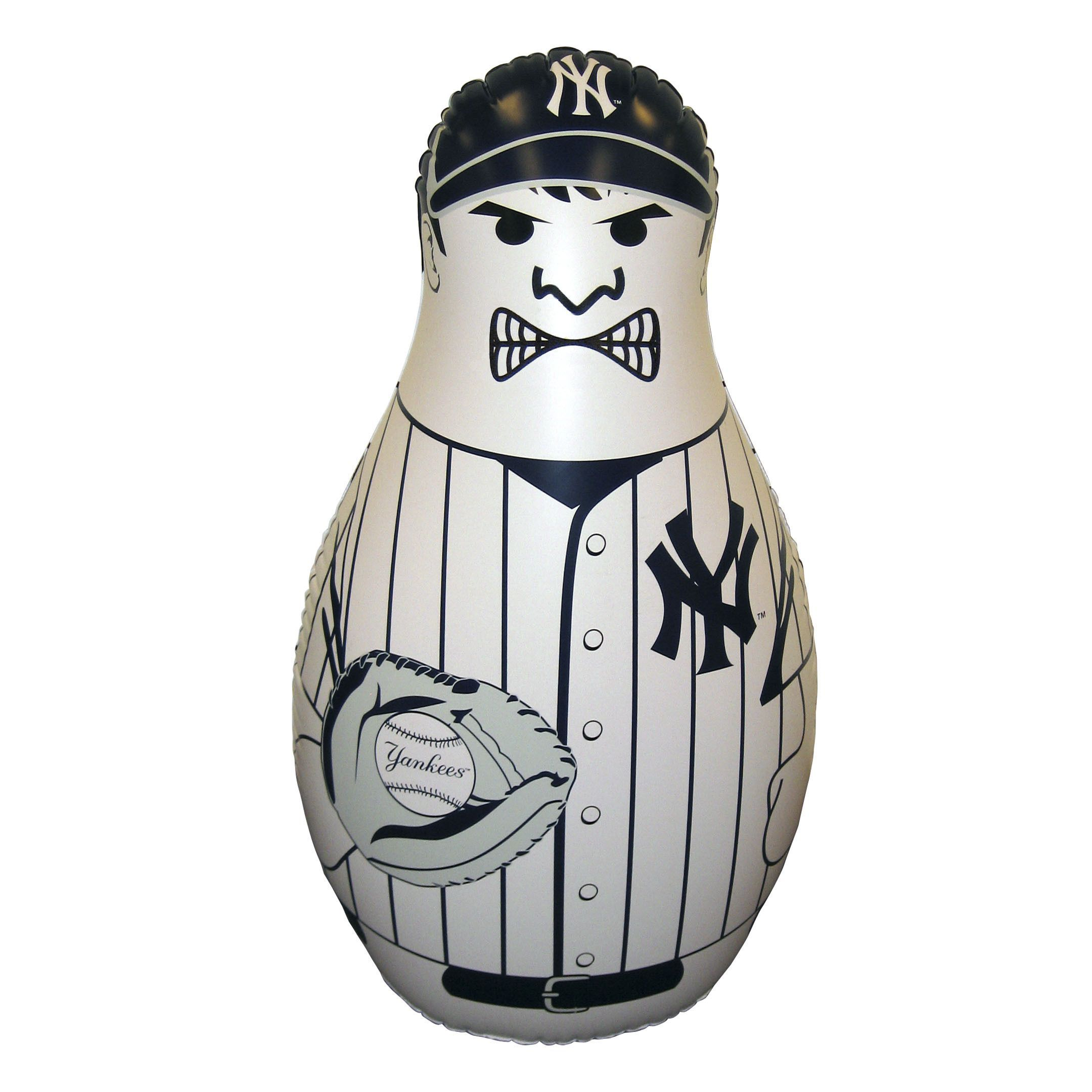 Art Bag Nyc Mlb New York Yankees Bop Bag Inflatable Punching Bag By Fremont Die