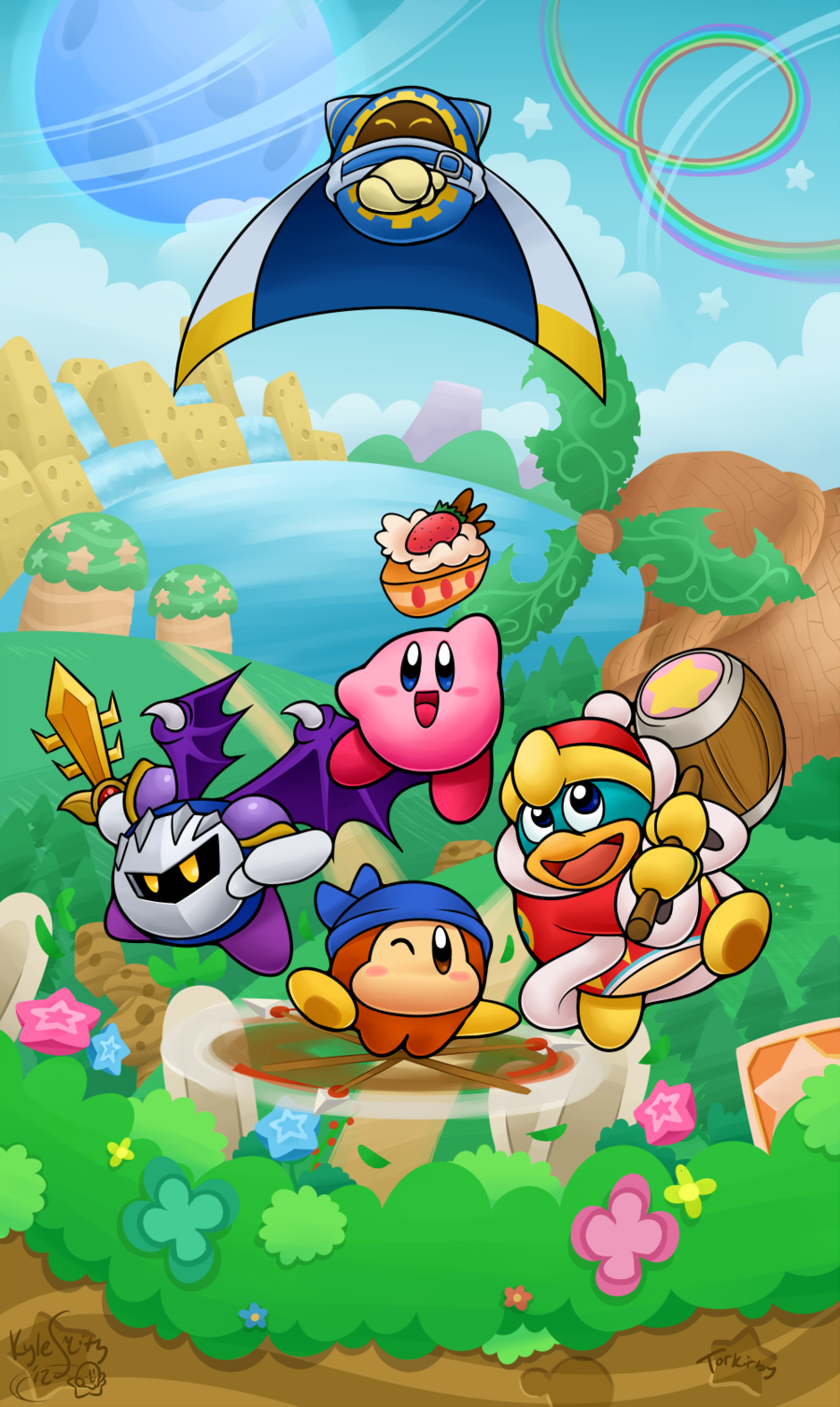 Kirby S Return To Dream Land By Torkirby On Deviantart Kirby