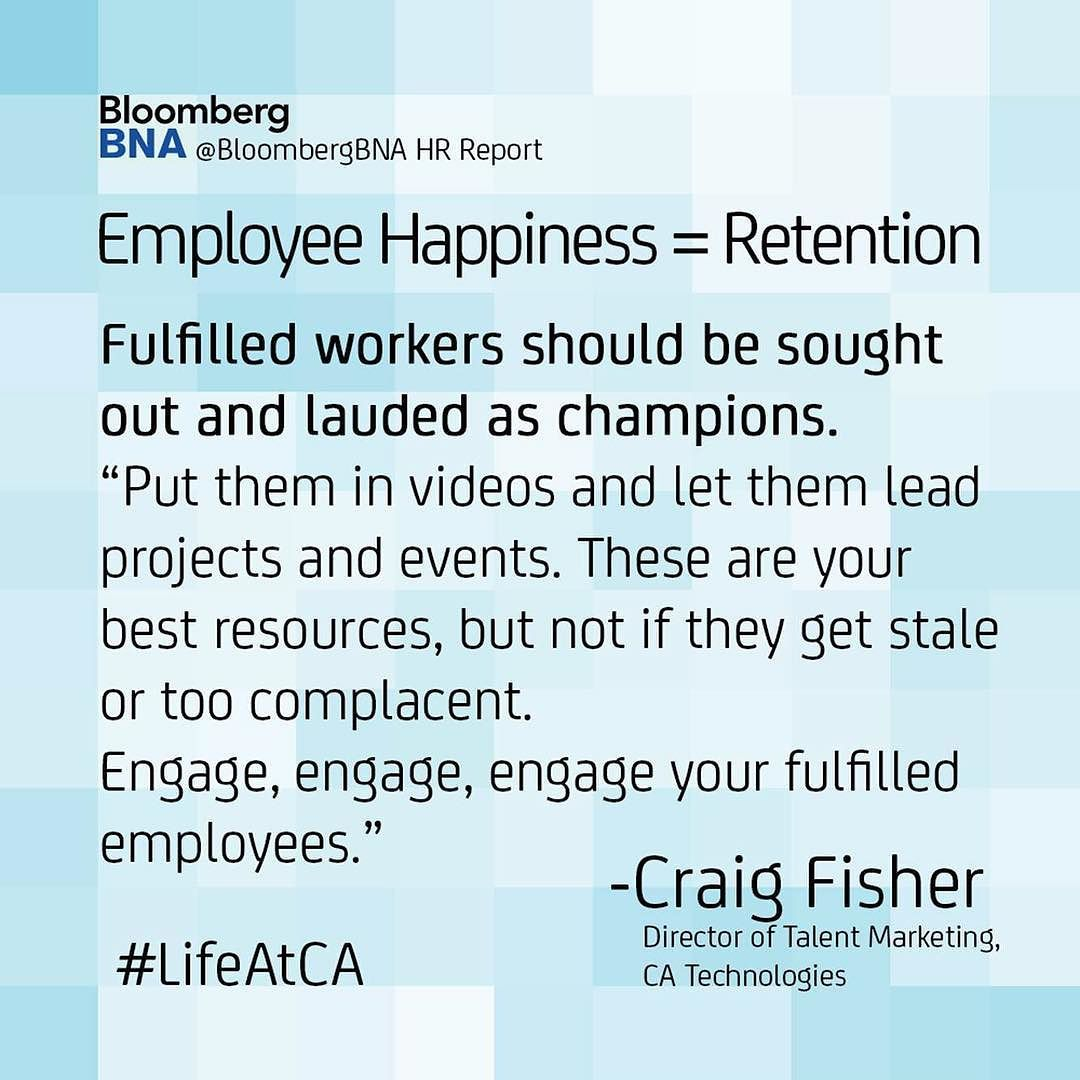 My Thoughts On Employee Happiness  Retention Quoted In